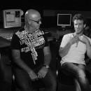 ליאונל ושמוליק באולפן מדברים על המשקפיים